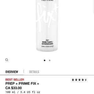 MAC Fix+ setting spray